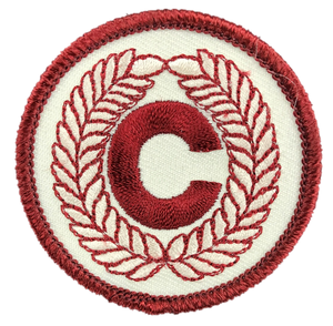 OLD Christian Character Badge
