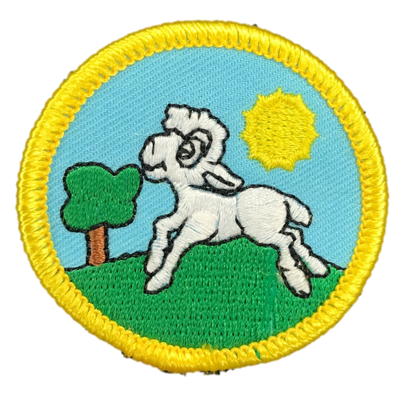 OLD Little Lambs Membership Badge
