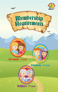 NEW Primary Membership Requirements (25 pack)