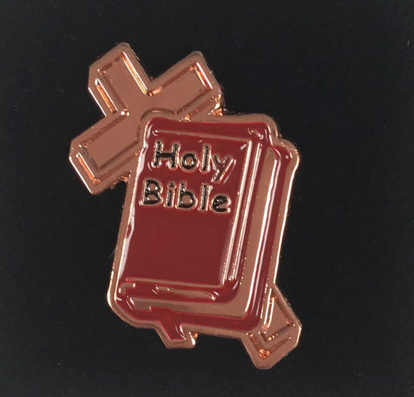 #2 Red Bible Pin - First Grade