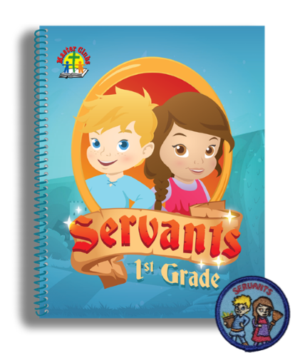 Servants Student Pack - First Grade