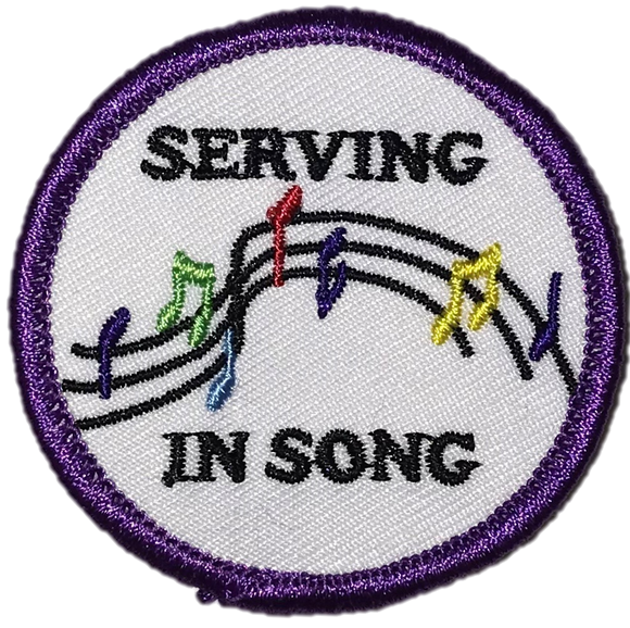Serving in Song Badge