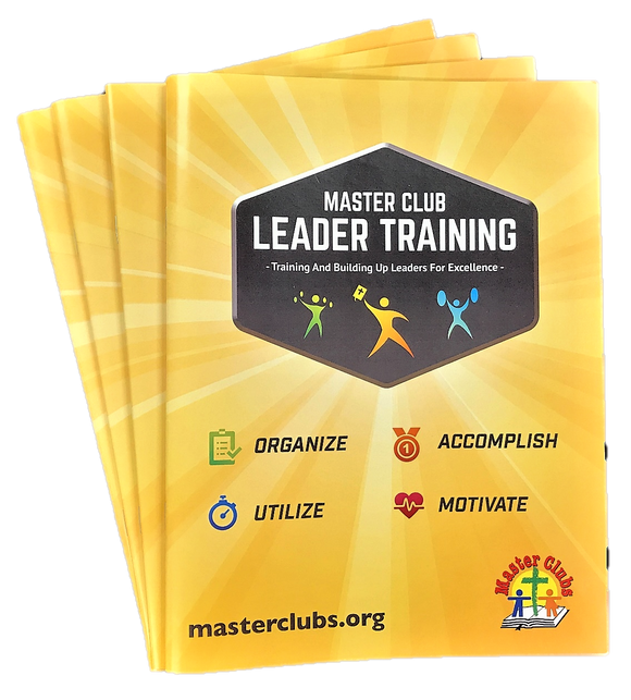 Master Clubs Leader Training Guides (4 pack)