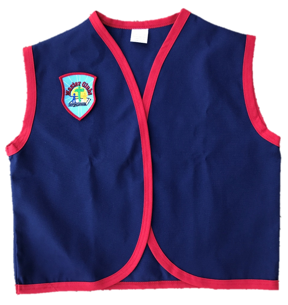 Child Medium Honor Vest with Badge