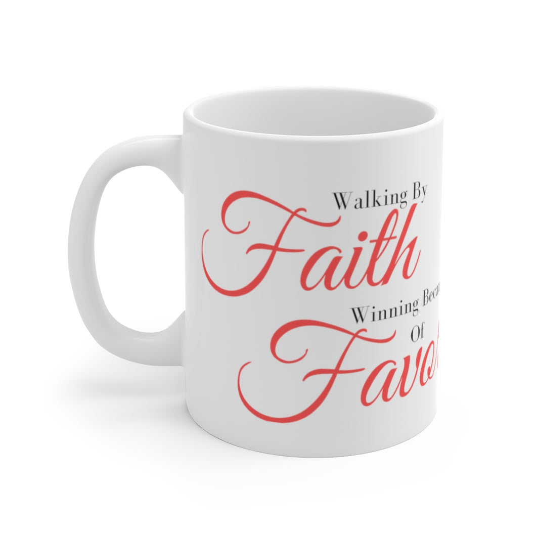 FaithFavor Coffee Mug (White)