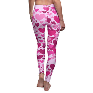 Heart 2 Heart Leggings (Pink)