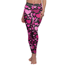 Load image into Gallery viewer, Heart 2 Heart Leggings (Black)
