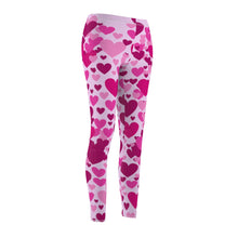 Load image into Gallery viewer, Heart 2 Heart Leggings (Pink)