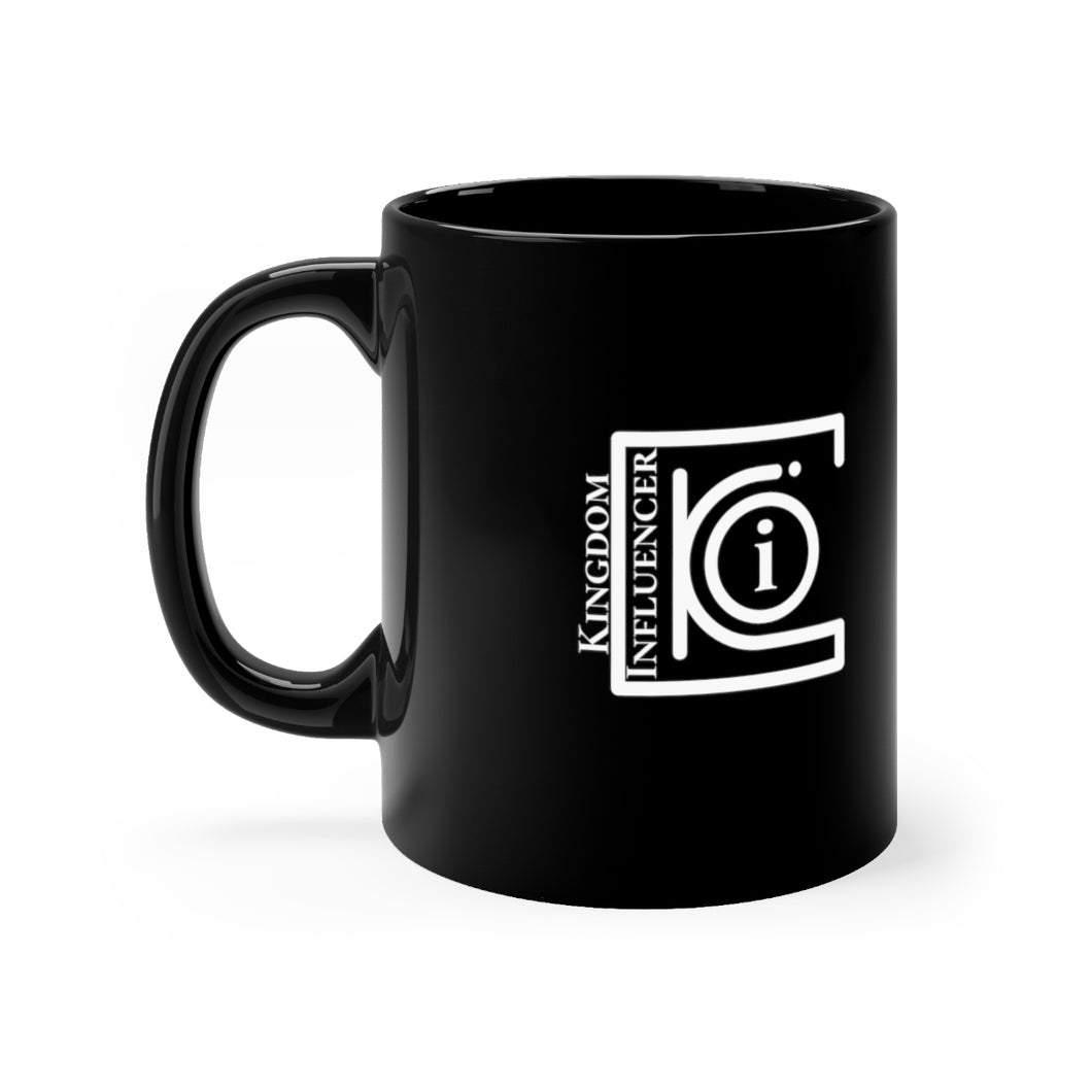 Kingdom Influencer Black Mug