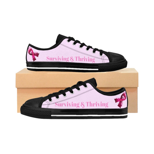 Surviving & Thriving Sneakers (Pink)