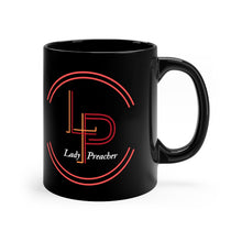 Load image into Gallery viewer, Lady Preacher's Logo Black Mug