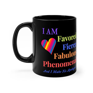 Favored Coffee Mug (Black)
