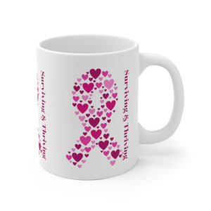 SurvivingThriving Coffee Mug (White)