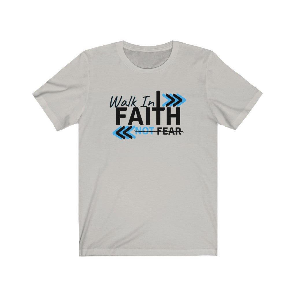 Faith Unisex Tee  (black font)