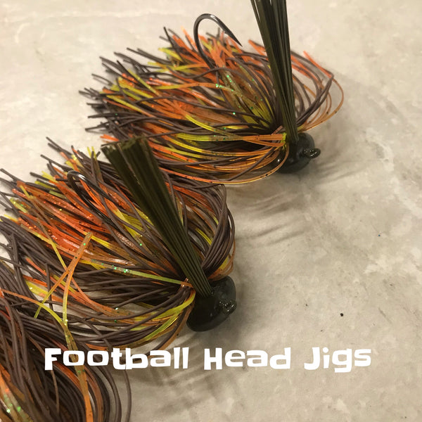 Arky and Football jigs