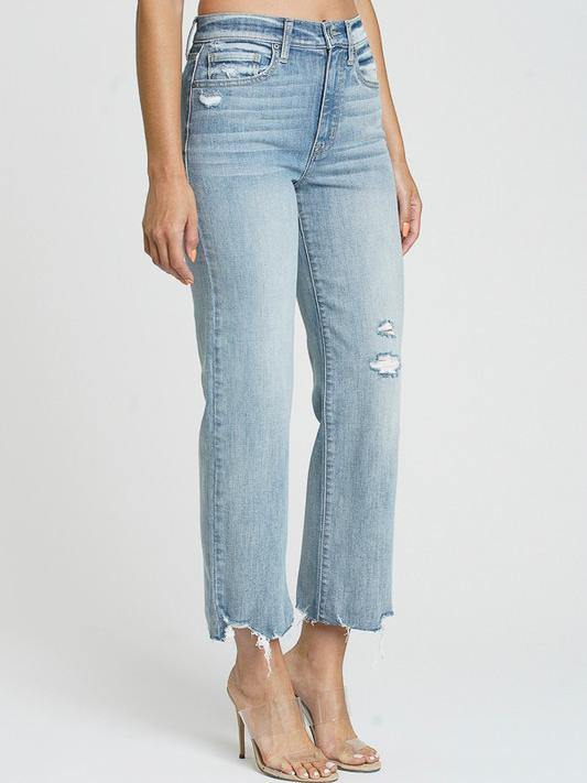 wide leg crop jeans womens
