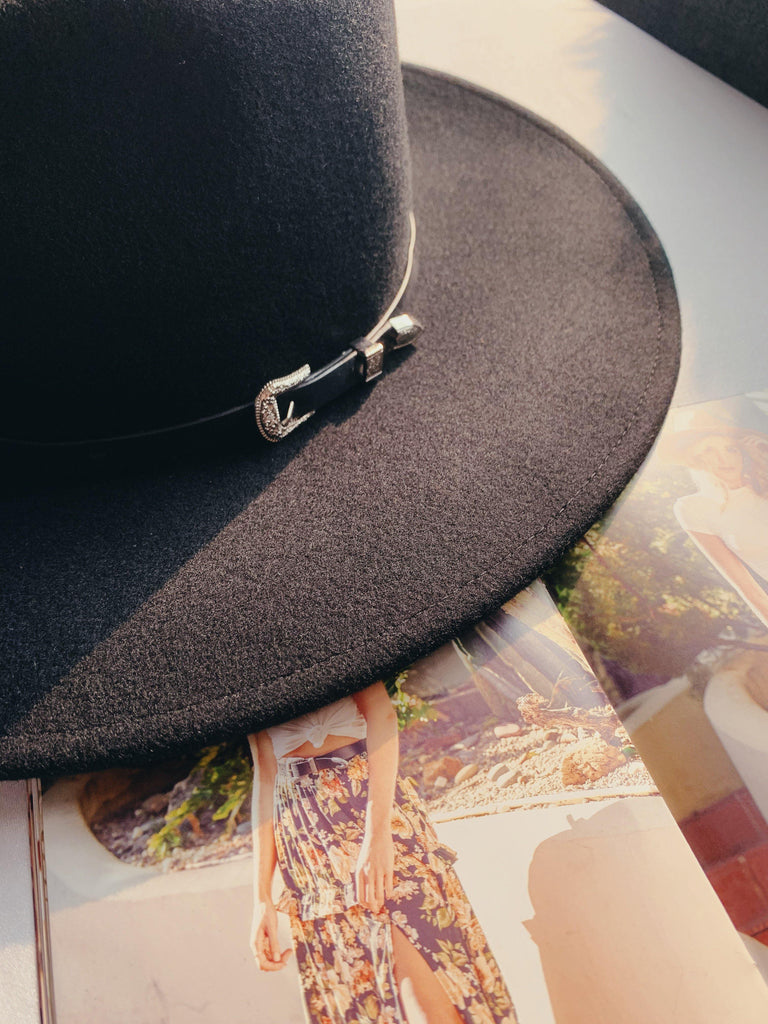 wyeth dakota hat with belted brim