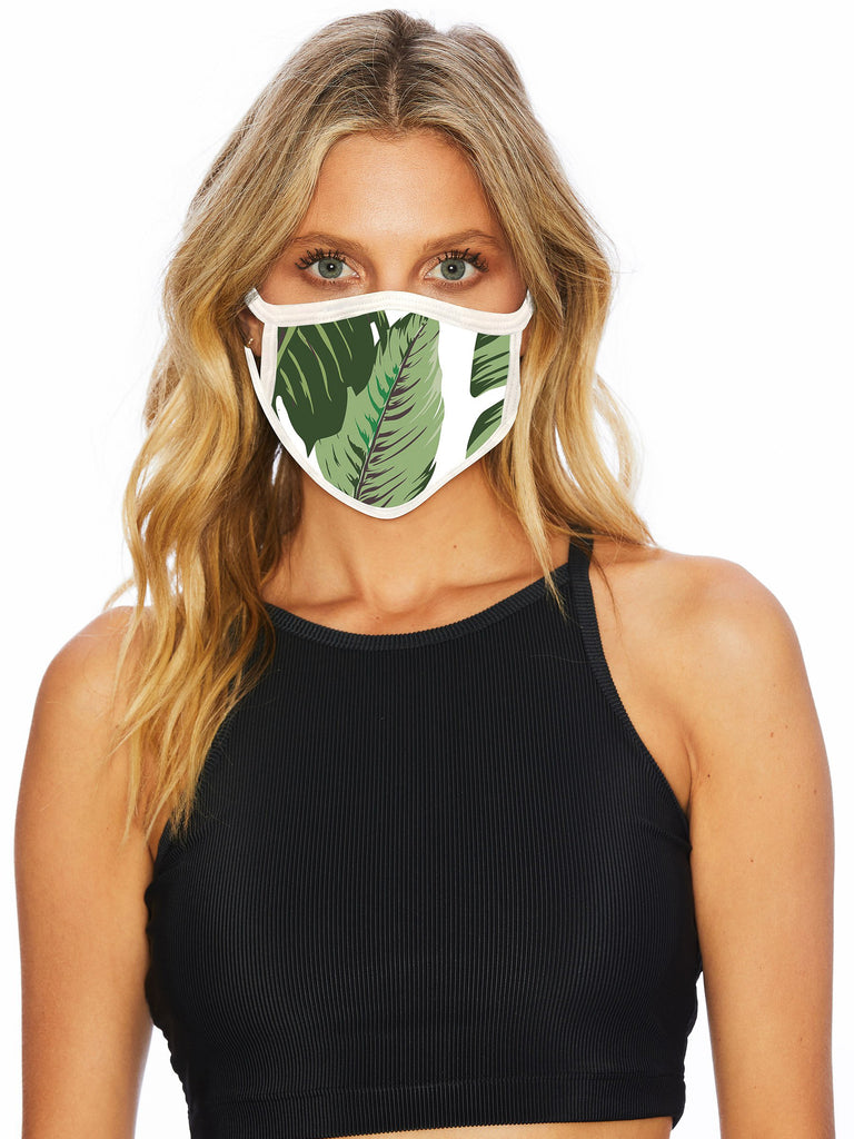 fashionable palm design face mask