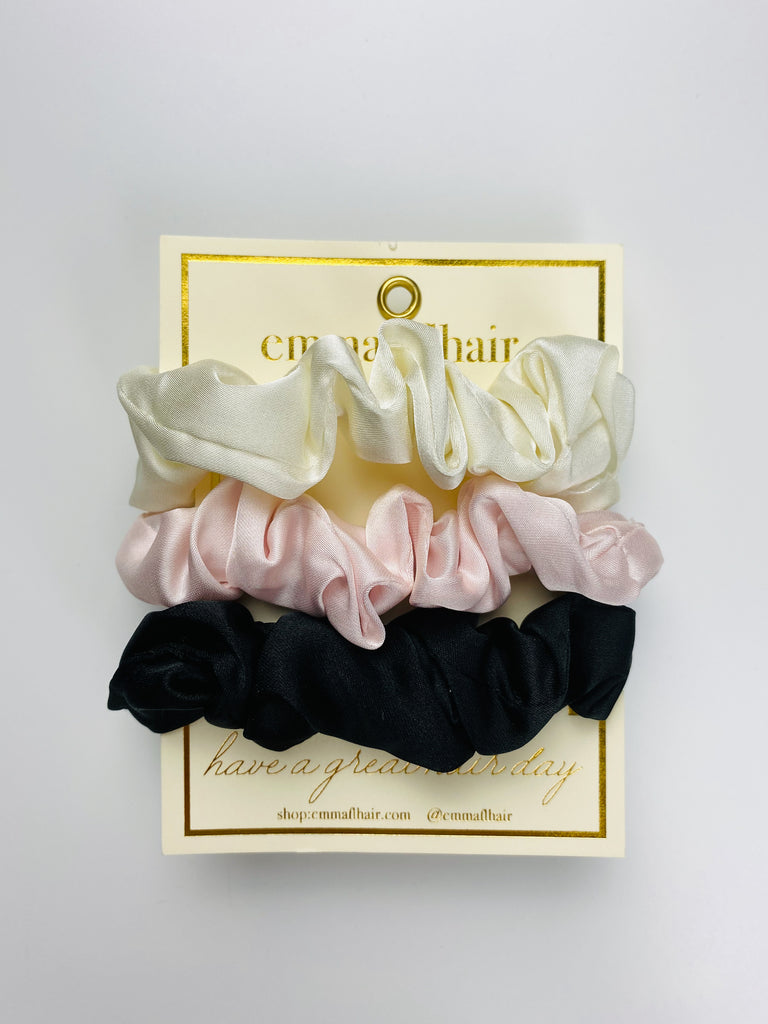 Mini Scrunchie Set of Three