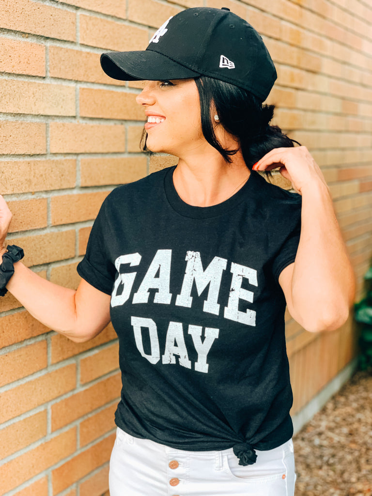 game day graphic tee womens