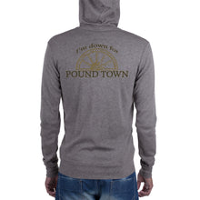 Load image into Gallery viewer, Pound Town zip hoodie