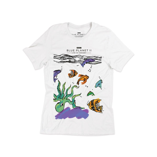 OCEAN KIDS WHITE T-SHIRT