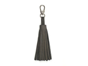 Ostrich Leather Tassel Keyring
