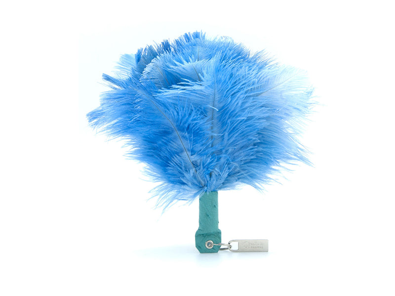 Feather Keyring - Feather Keyrings - Ostrich Feathers - Ostrich2Love