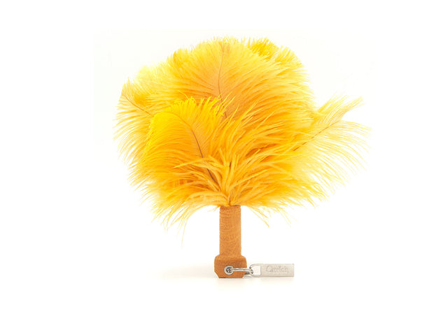 Feather Keyring - Ostrich Feather Keyring - Ostrich Feathers - Ostrich2Love