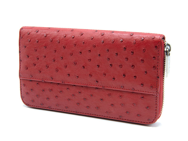 Cango Clutch Ostrich Leather Wallet - Ladies Wallets - Ostrich Leather - Ostrich2Love