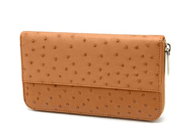 Cango Clutch Wallet - Ladies Wallets - Ostrich Leather - Ostrich2Love