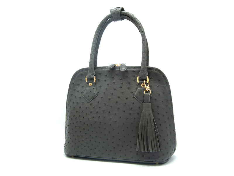 Deluxe Hepburn Handbag - Hepburn Handbags - Ostrich Leather - Ostrich2Love