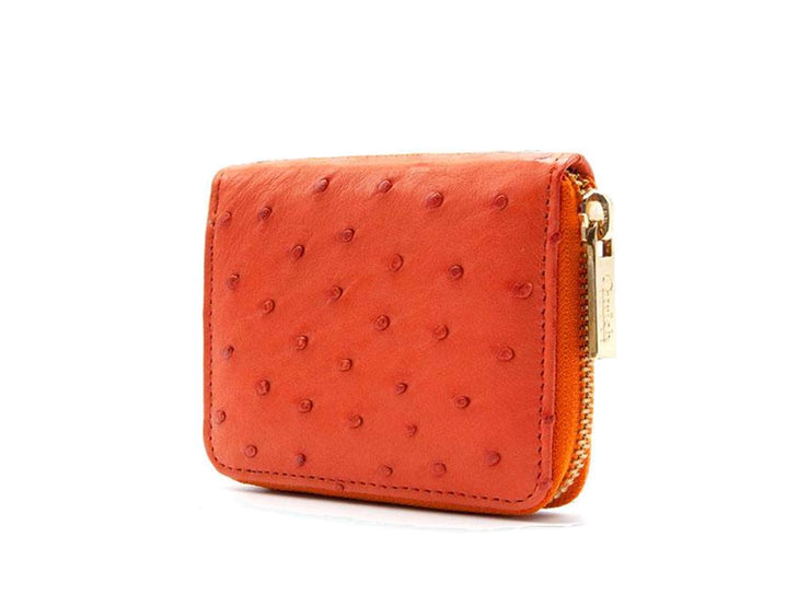 Ostrich Leather Continental Purse - Purse - Ostrich Leather - Ostrich2Love