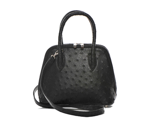 Mini Ostrich Leather Hepburn Handbag - Hepburn Handbags - Ostrich Leather - Ostrich2Love