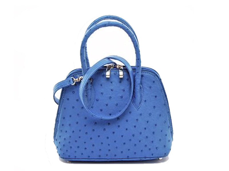 Mini Hepburn Handbag - Hepburn Handbags - Ostrich Leather - Ostrich2Love