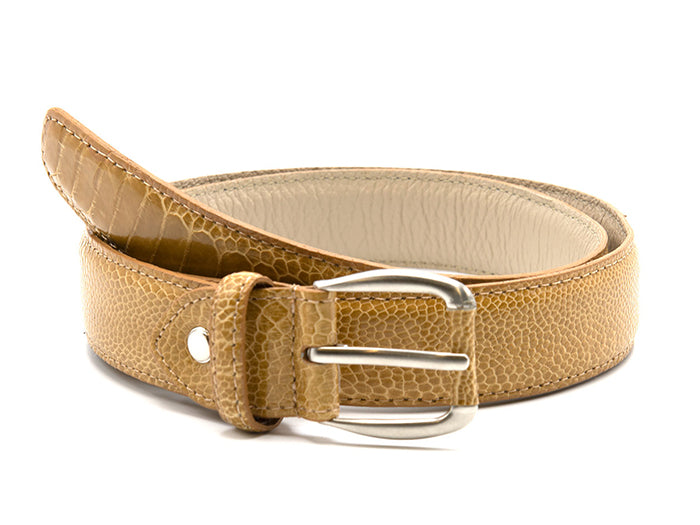 Ostrich Shin Belts - Fashion - Ostrich Leather - Ostrich2Love