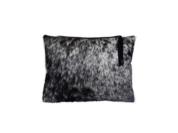 Nguni Flecked Hide Cushion - Homeware - Nguni Skin - Ostrich2Love