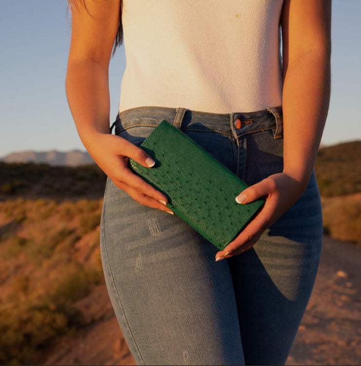 Ostrich Leather Knysna Wallet