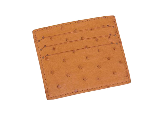 Ostrich Leather Card Holder - Card Holders - Ostrich Leather - Ostrich2Love