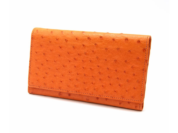 Small Classic Wallet - Ladies Wallets - Ostrich Leather - Ostrich2Love