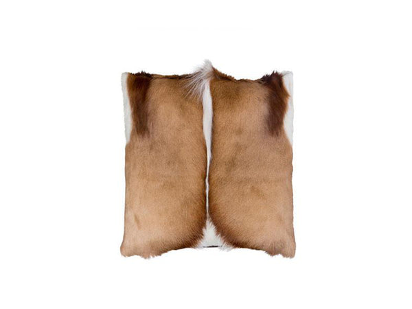 Springbok Fur Cushion - Homeware - Springbok Skin - Ostrich2Love