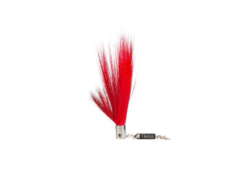 Springbok Fur Charm - Feather Keyrings - Springbok Fur - Ostrich2Love
