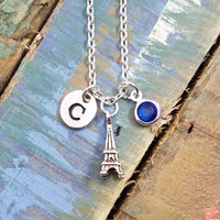Eiffel Tower Necklace,Travel Necklace, Personalized Necklace, Travelling Gifts,