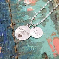 You're My Person Necklace, Friendship Necklace, Couple's Necklace, Best Friend Gift, You're My Person Gift, Greys Anatomy Inspired, Bestie Gift, BFF Gift