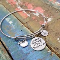 Personalized Teacher Bracelet, Teacher Appreciation Gift, Teacher's Day Gift, Personalized Teacher Gift