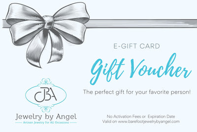 Barefoot Jewelry by Angel E-Gift Card