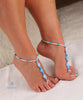 foot chain barefoot jewelry by angel