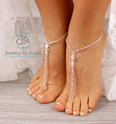 Beach-Wedding-Barefoot-Sandal-Beaded-Footless-Sandals-Barefoot-Wedding