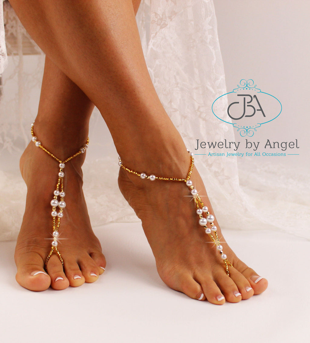 gold-barefoot-sandals-women-gold-wedding-shoes-gold-foot-jewelry