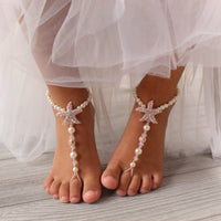 toddler-barefoot-sandals-flower-girl-barefoot-sandals-starfish-foot-jewelry